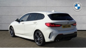 2021 BMW 118i M Sport (White) - Image: 2