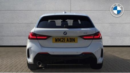 2021 BMW 118i M Sport (White) - Image: 15