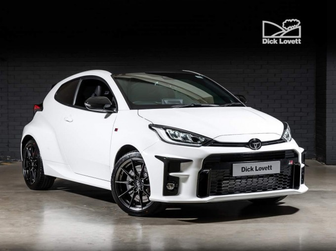 2021 Toyota GR Circuit 3-door (White) - Image: 1