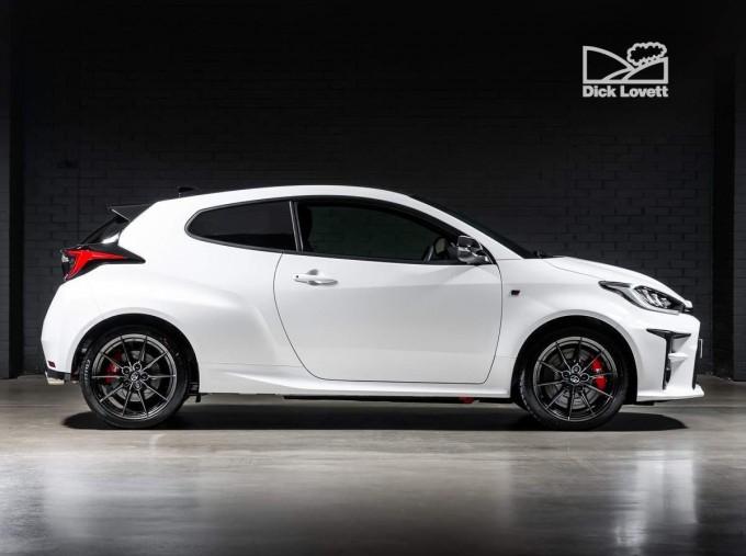 2021 Toyota GR Circuit 3-door (White) - Image: 3