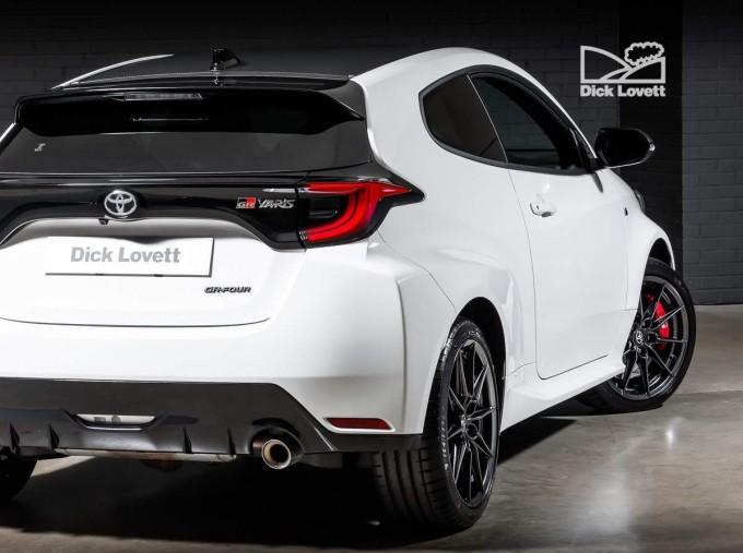 2021 Toyota GR Circuit 3-door (White) - Image: 12