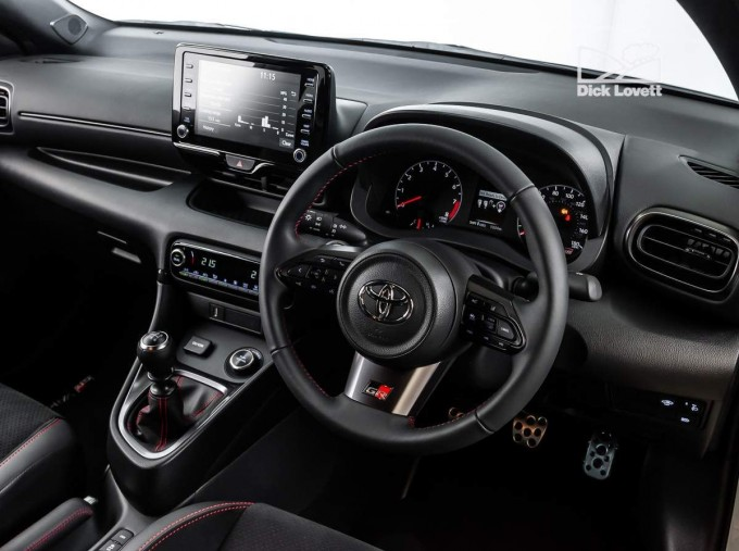 2021 Toyota GR Circuit 3-door (White) - Image: 16