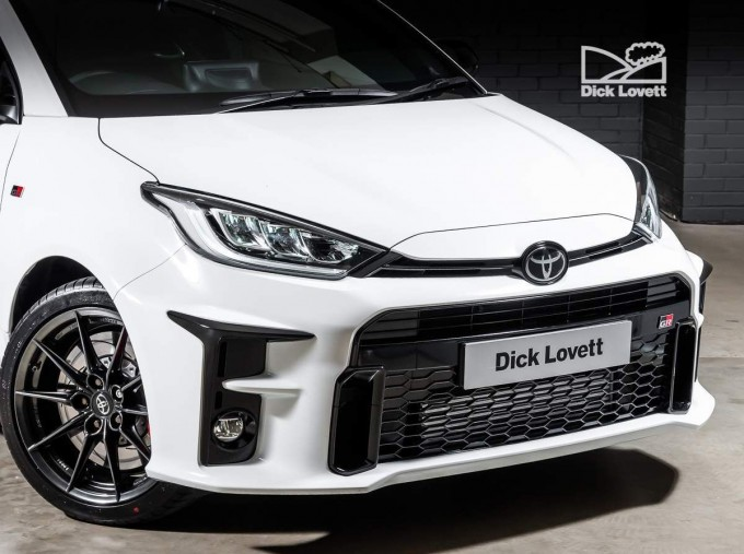 2021 Toyota GR Circuit 3-door (White) - Image: 9