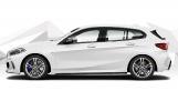 2021 BMW M135i Auto xDrive 5-door (White) - Image: 3