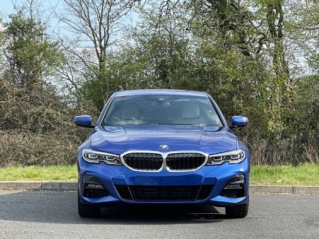 2021 BMW 320i M Sport Auto xDrive 4-door (Blue) - Image: 14
