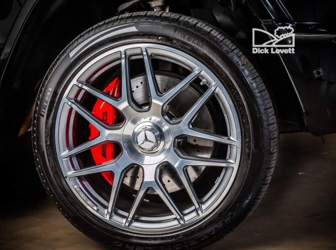 2019 Mercedes-Benz G63 V8 BiTurbo AMG SpdS+9GT 4WD 5-door (Black) - Image: 14
