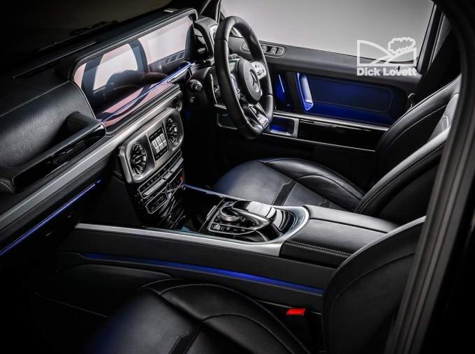 2019 Mercedes-Benz G63 V8 BiTurbo AMG SpdS+9GT 4WD 5-door (Black) - Image: 17