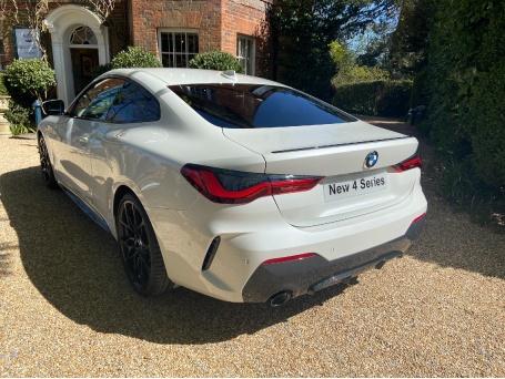 2021 BMW 420d MHT M Sport Auto xDrive 2-door (White) - Image: 7