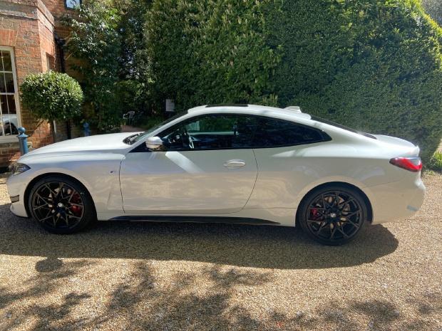 2021 BMW 420d MHT M Sport Auto xDrive 2-door (White) - Image: 8