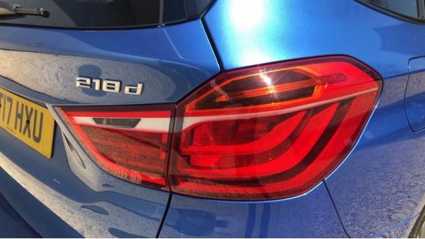 2017 BMW 218d M Sport Gran Tourer (Blue) - Image: 21