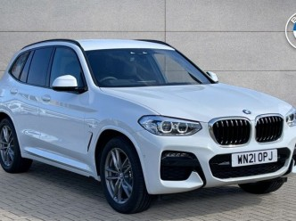 Reserve your 2021 BMW X3 Series xDrive20d M Sport