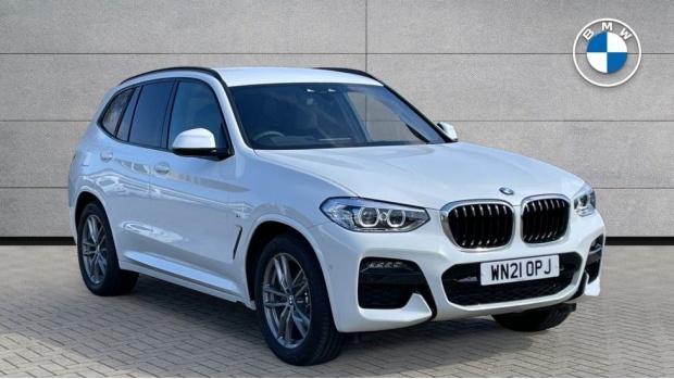 Reserve your 2021 BMW X3 xDrive20d M Sport
