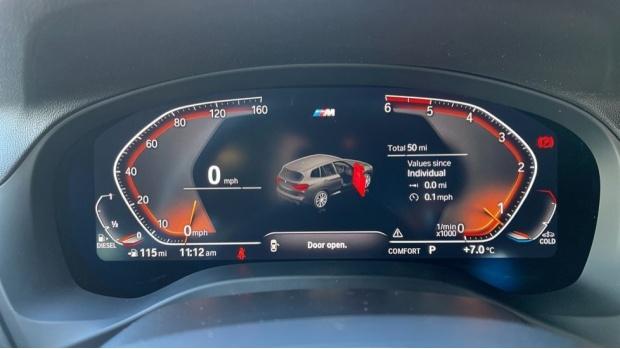 2021 BMW XDrive20d M Sport (White) - Image: 9