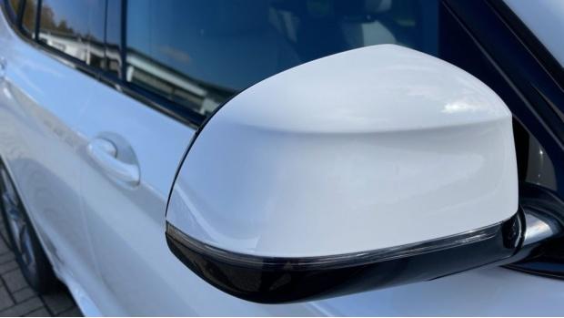 2021 BMW XDrive20d M Sport (White) - Image: 24