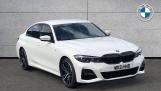 2021 BMW 330e M Sport Saloon (White) - Image: 1