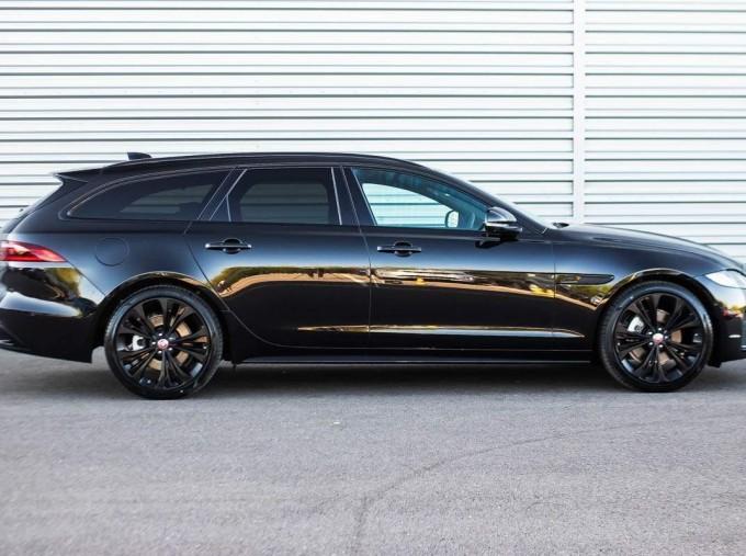 2021 Jaguar MHEV R-Dynamic SE Sportbrake Auto 5-door (Black) - Image: 5
