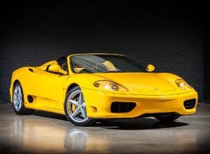 2003 Ferrari 360 Spider 2-door