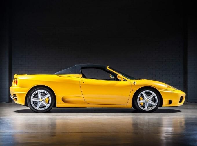2003 Ferrari Spider 2-door (Yellow) - Image: 4
