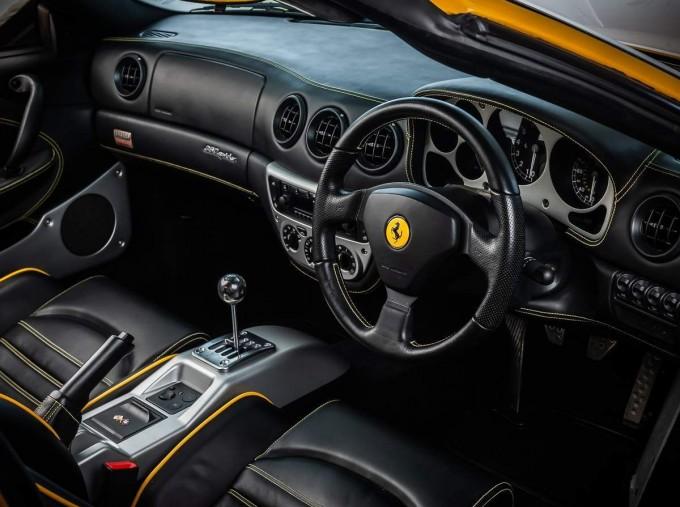 2003 Ferrari Spider 2-door (Yellow) - Image: 5