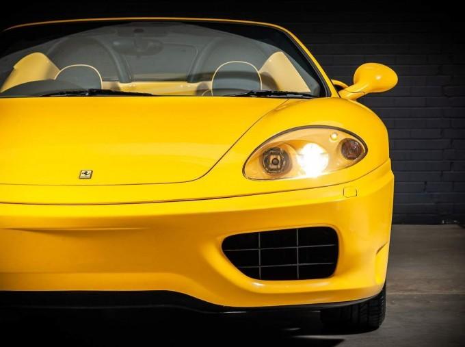 2003 Ferrari Spider 2-door (Yellow) - Image: 9