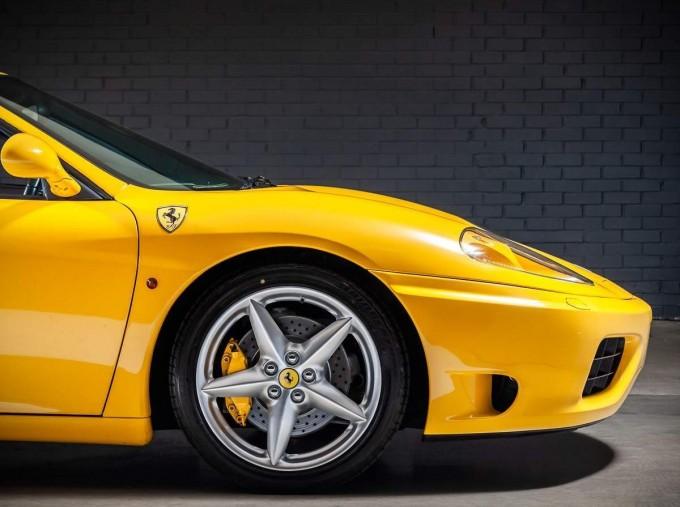 2003 Ferrari Spider 2-door (Yellow) - Image: 13