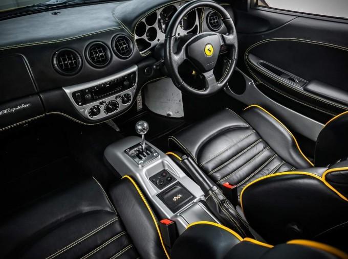 2003 Ferrari Spider 2-door (Yellow) - Image: 20