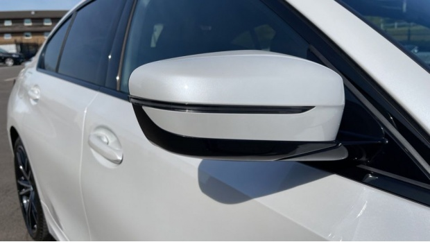 2020 BMW 330e M Sport Saloon (White) - Image: 27