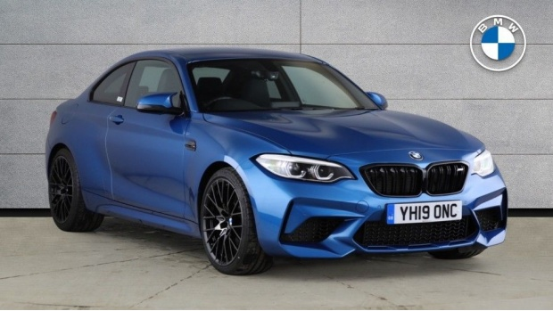 2019 BMW Competition (Blue) - Image: 1
