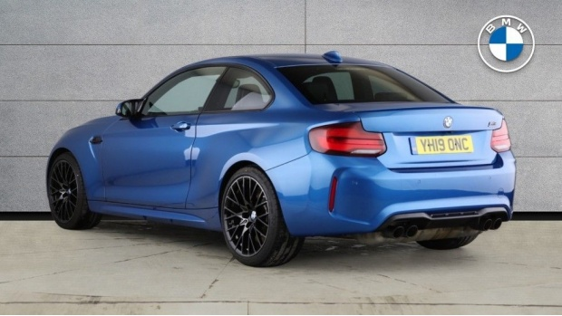 2019 BMW Competition (Blue) - Image: 2