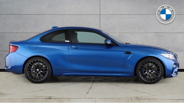 2019 BMW Competition (Blue) - Image: 3