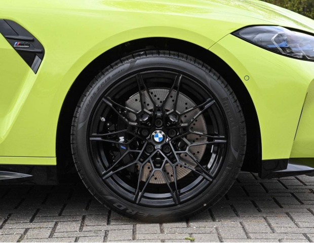 2021 BMW BiTurbo Competition Steptronic 2-door (Yellow) - Image: 4