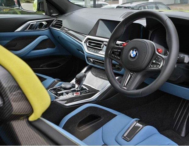 2021 BMW BiTurbo Competition Steptronic 2-door (Yellow) - Image: 16