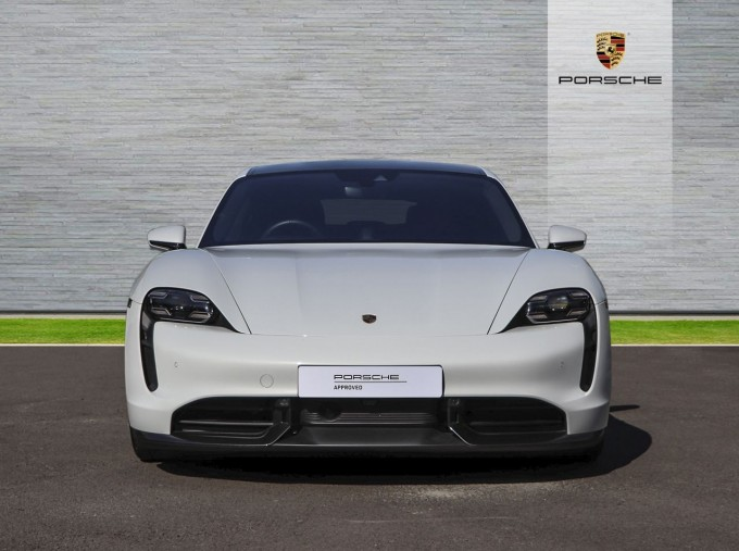 2020 Porsche 93.4kWh Turbo S Auto 4WD 4-door (White) - Image: 5