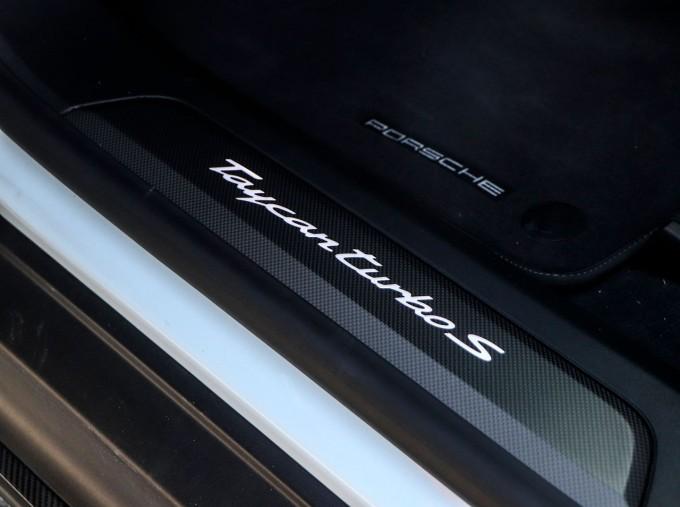 2020 Porsche 93.4kWh Turbo S Auto 4WD 4-door (White) - Image: 13