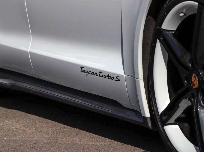 2020 Porsche 93.4kWh Turbo S Auto 4WD 4-door (White) - Image: 15