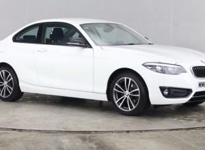 Brand new 2018 BMW 2 Series 218i Sport Coupe 2-door finance deals