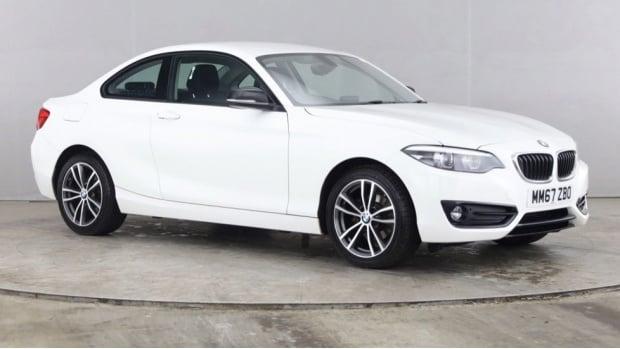 2018 BMW 218i Sport Coupe (White) - Image: 1