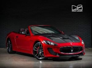 2015 Maserati Grancabrio V8 MC Centennial Edition MC Shift 2-door
