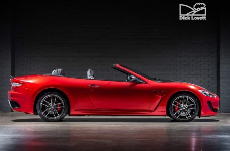2015 Maserati V8 MC Centennial Edition MC Shift 2-door (Red) - Image: 3