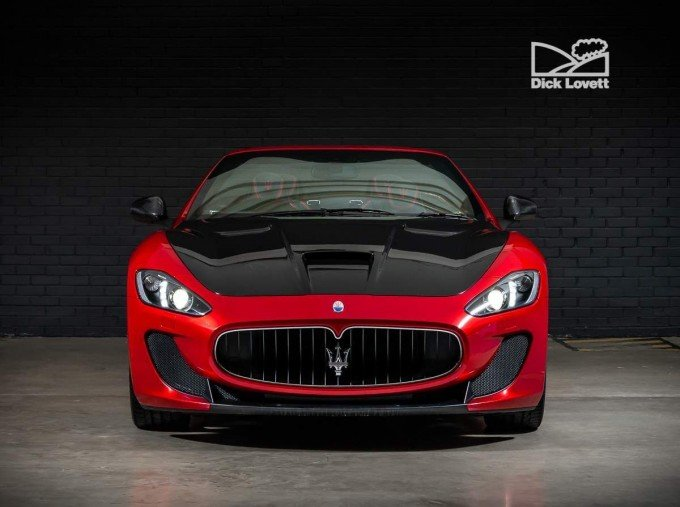 2015 Maserati V8 MC Centennial Edition MC Shift 2-door (Red) - Image: 7