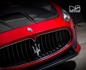 2015 Maserati V8 MC Centennial Edition MC Shift 2-door (Red) - Image: 9