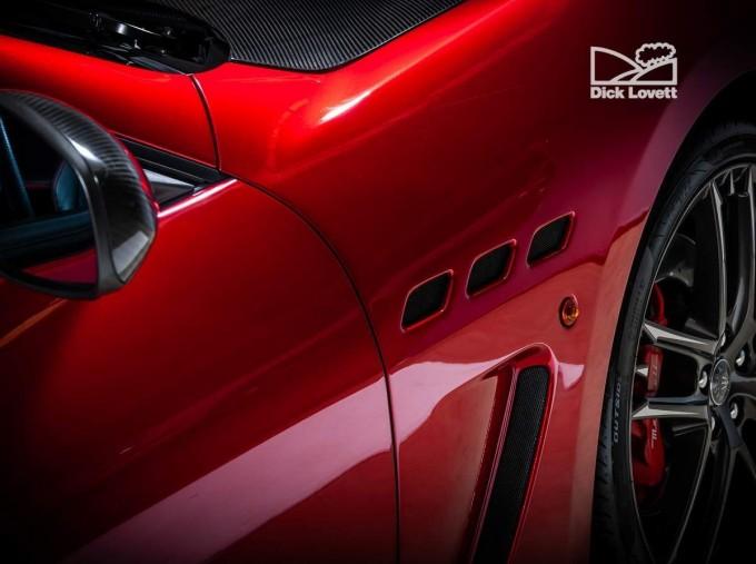 2015 Maserati V8 MC Centennial Edition MC Shift 2-door (Red) - Image: 13
