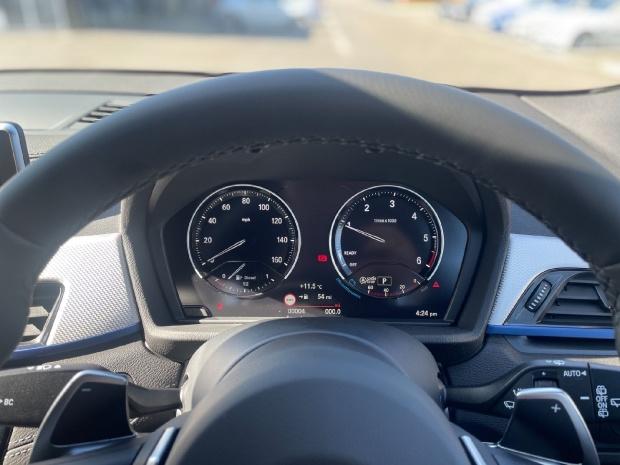 2021 BMW 18d M Sport Auto sDrive 5-door (White) - Image: 9