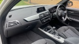 2017 BMW 118i M Sport 5-door (White) - Image: 7