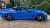 2021 BMW M850i V8 Steptronic xDrive 2-door  - Image: 2