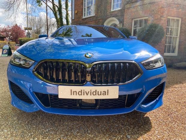 2021 BMW M850i V8 Steptronic xDrive 2-door  - Image: 3
