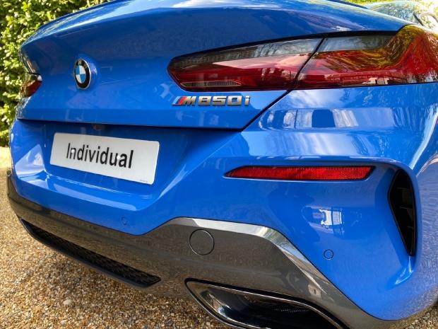 2021 BMW M850i V8 Steptronic xDrive 2-door  - Image: 4
