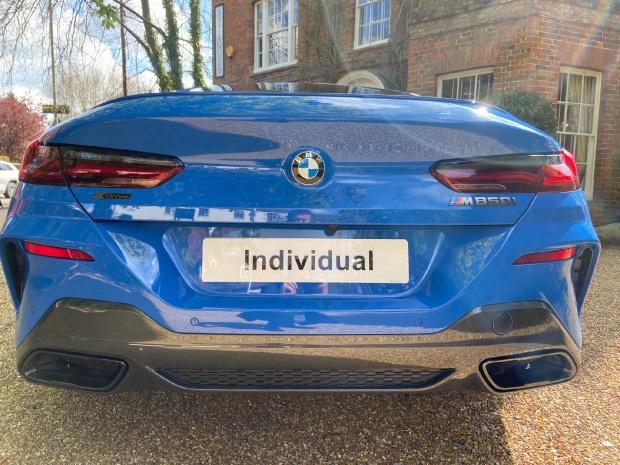 2021 BMW M850i V8 Steptronic xDrive 2-door  - Image: 8