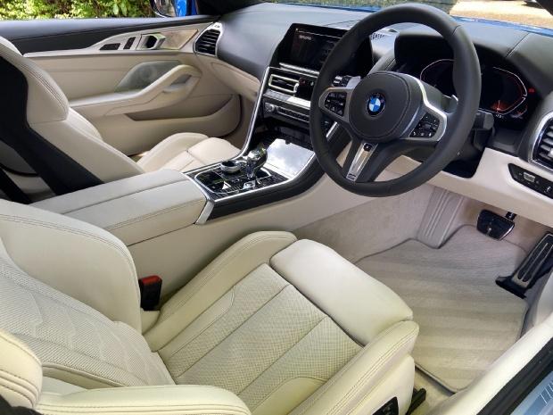 2021 BMW M850i V8 Steptronic xDrive 2-door  - Image: 12