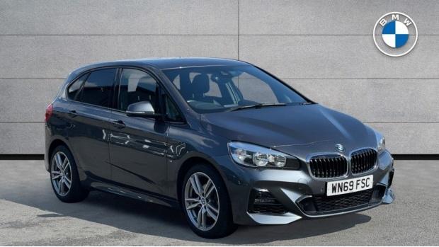 2019 BMW 218i M Sport Active Tourer (Grey) - Image: 1